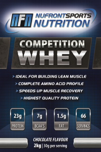 Competition Whey 2kg Choc Small